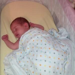 Bbay alexia sleeping